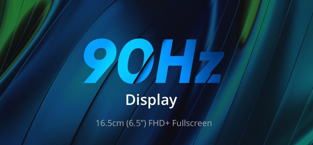 realme narzo 20 Pro 90Hz display